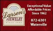 Larsen's Jewelry servicing you since 1962. Visit us for quality diamonds - Stone settings - Watches and Goldsmithing, along with fine gifts.