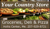 We are your local Shurfine supermarket. Whether you're shopping for everything on your grocery list or just need a few specialty items, Your Country Store will meet your needs.