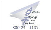 We are your complete awards, signage, and trophies center. You earned the recognition, we make sure you get awards!