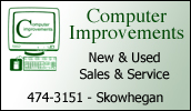 Computer Improvements offers sales & service on new and used computers & accessories. We offer great selections at reasonable rates. Call us today for quality product and service!