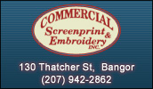 Advertising that lasts! Specializing in Screen Printing - Embroidery - Promotional products and Etched Glassware.