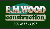 E.M. Wood Construction offers excavation services throughout Maine including septic systems, driveways, site preparation, pond work, utility work and so much more.