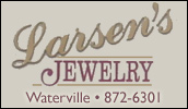 Larsens Jewelry servicing you since 1962. Visit us for quality diamonds - Stone settings - Watches and Goldsmithing, along with fine gifts.