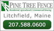 Pine Tree Fence Company is a full service custom fence company servicing the greater central Maine