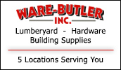 Full service lumber and building supply center. Located in 3 convenient locations.