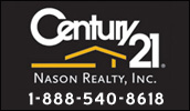 Century 21, Nason Realty, Inc. has been servicing the local community since 1975. Whether you are selling or buying a property our team of professionals awaits the opportunity to serve you.