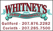 We are your local supermarket. Whether you're shopping for everything on your grocery list or just need a few specialty items, Whitney's will meet your needs.